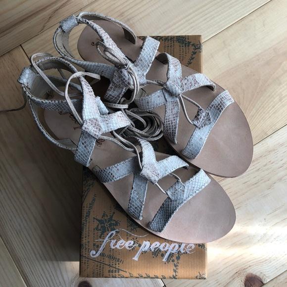 Free People Shoes - NIB Free People Perth Wrap Sandal 41EU